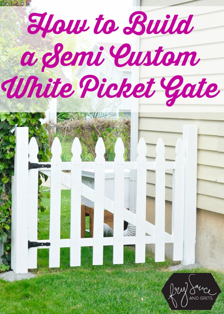 DIY Fences and Gates - Perfect DIY White Picket Fence - How To Make Easy Fence and Gate Project for Backyard and Home - Step by Step Tutorial and Ideas for Painting, Updating and Making Fences and DIY Gate - Cool Outdoors and Yard Projects