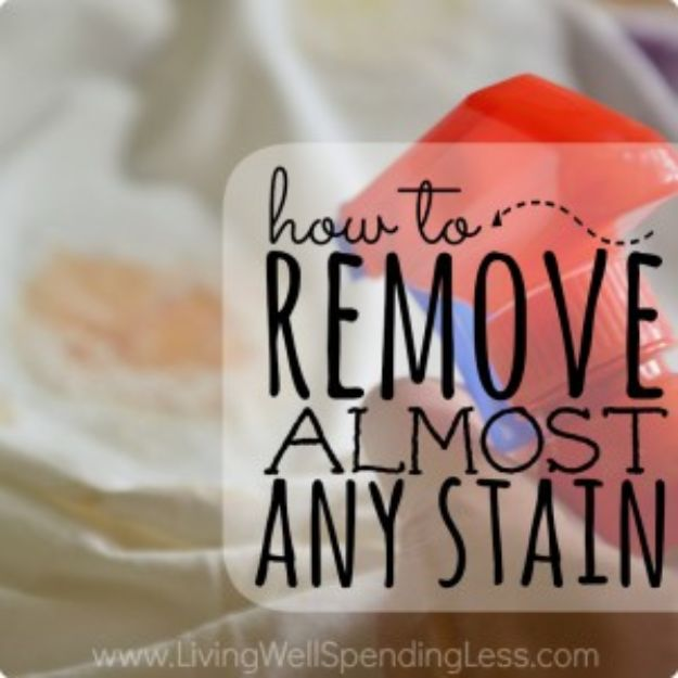 Remove Almost Any Stain