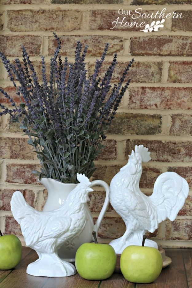 Thrift Store DIY Makeovers -Thrift Store Rooster Makeover - Decor and Furniture With Upcycling Projects and Tutorials - Room Decor Ideas on A Budget - Crafts and Decor to Make and Sell - Before and After Photos - Farmhouse, Outdoor, Bedroom, Kitchen, Living Room and Dining Room Furniture http://diyjoy.com/thrift-store-makeovers