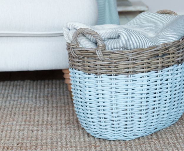Thrift Store DIY Makeovers - Upcycled Baskets - Decor and Furniture With Upcycling Projects and Tutorials - Room Decor Ideas on A Budget - Crafts and Decor to Make and Sell - Before and After Photos - Farmhouse, Outdoor, Bedroom, Kitchen, Living Room and Dining Room Furniture http://diyjoy.com/thrift-store-makeovers