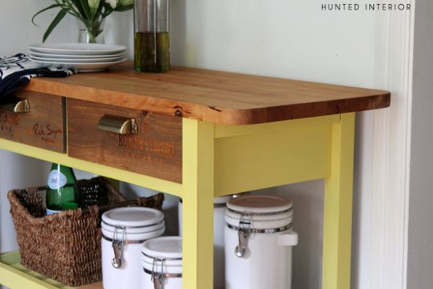 IKEA Hacks for Your Kitchen - Wine Crate Drawer Fronts - DIY Furniture and Kitchen Accessories Made from IKEA - Kitchen Islands, Cabinets, Table, Pantry Organization, Storage, Shelves and Counter Solutions - Bar, Buffet and Entertaining Ideas - Easy Projects With Step by Step Tutorials and Instructions to Hack IKEA items #ikea #ikeahacks #diyhomedecor #diyideas #diykitchen