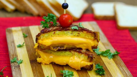 This Bacon Wrapped Grilled Cheese Just Won Sandwiches Forever   DIY Joy Projects and Crafts Ideas