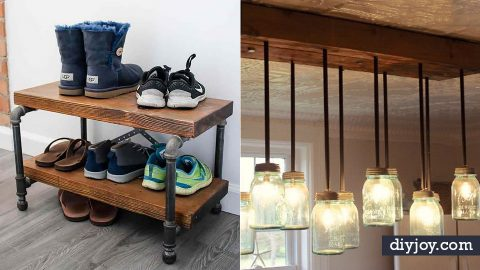 34 Industrial Style DIY Ideas   DIY Joy Projects and Crafts Ideas