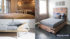 34 DIY Bed Frames to Make Your Bedroom Furniture Dreams Come True