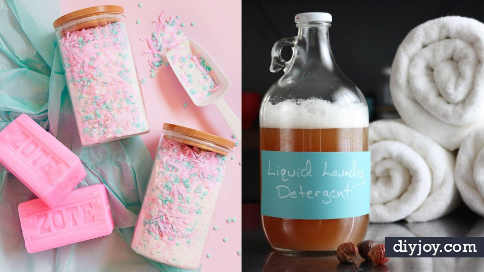 34 DIY Laundry Detergent Recipes