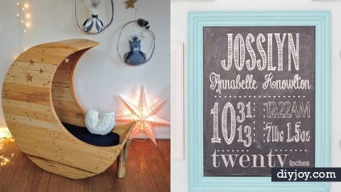34 DIY Nursery Decor Ideas | DIY Joy Projects and Crafts Ideas