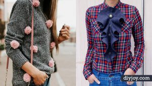 34 DIY Clothes Ideas For Your Fall Wardrobe