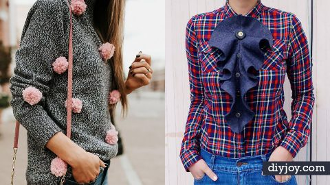 34 DIY Clothes Ideas For Your Fall Wardrobe   DIY Joy Projects and Crafts Ideas