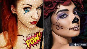 50 DIY Halloween Makeup Tutorials