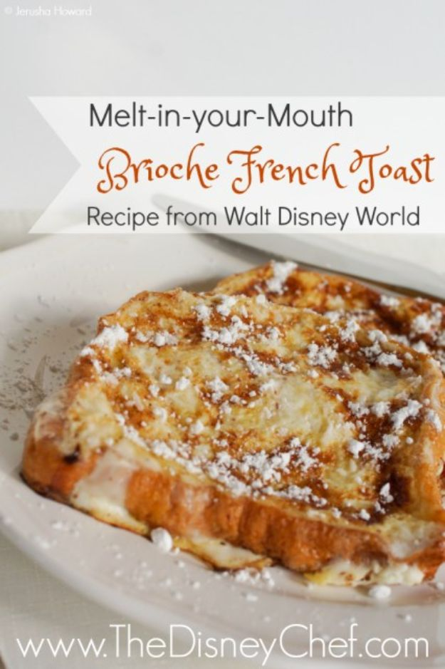 French Toast Recipes - Brioche French Toast - Best Brunch Bites and Breakfast Ideas for French Toast - Stuffed, Baked and Creme Brulee Toasts With Fruit - Healthy Sugar Free, Gluten Free and Keto Versions - Casserole Ideas for Parties and Feeding A Crowd, Sticks and Overnight Prep - How To Make French Toast Perfectly, Classic Powdered Sugar French Toast Recipe http://diyjoy.com/french-toast-recipes