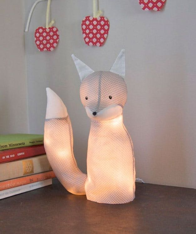 DIY Nursery Decor - DIY Animal Lamp - Easy Projects to Make for Baby Room - Decorations for Boy and Girl Rooms, Unisex, Minimalist and Modern Nurseries and Rustic, Farmhouse Style - All White, Pink, Blue, Yellow and Green - Cribs, Bedding, Wall Art and Hangings, Rocking Chairs, Pillows, Changing Tables, Storage and Bassinet for Baby http://diyjoy.com/diy-nursery-decor