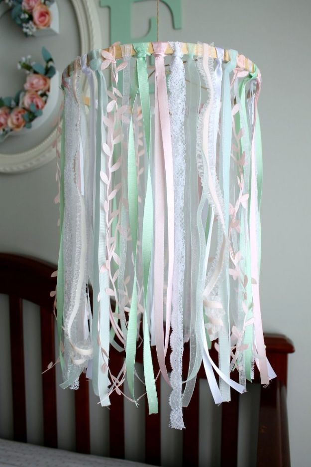 Easy DIY Nursery Decor - DIY Baby Mobile - Easy Projects to Make for Baby Room - Decorations for Boy and Girl Rooms, Unisex, Minimalist and Modern Nurseries and Rustic, Farmhouse Style - All White, Pink, Blue, Yellow and Green - Cribs, Bedding, Wall Art and Hangings, Rocking Chairs, Pillows, Changing Tables, Storage and Bassinet for Baby #diybaby #babygifts #nurserydecor