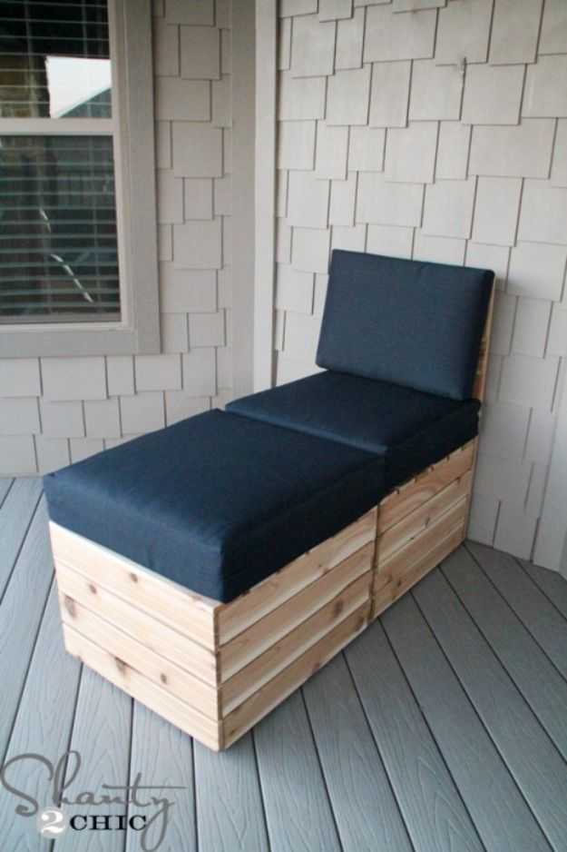 DIY Outdoor Furniture - DIY Modular Outdoor Seating - Cheap and Easy Ideas for Patio and Porch Seating and Tables, Chairs, Sofas - How To Make Outdoor Furniture Projects on A Budget - Fmaily Friendly Decor Kids Love - Quick Projects to Make This Weekend - Swings, Pallet Tables, End Tables, Rocking Chairs, Daybeds and Benches http://diyjoy.com/diy-outdoor-furniture