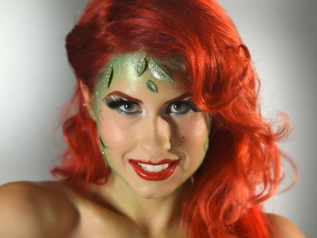 Best Halloween Makeup Tutorials - Garden Goddess - Easy Makeup Tips and Tutorial Ideas for The Best Halloween Costume - Animals, Eyes, Creative Faces, Simple and Scary Ghosts, Skeletons and Creatures - Zombie Makeup, Cute Looks, DIY Vampire, Gypsy, Mermaid and Creepy Sugar Skull, Cool Glam Looks for A Halloween Party and Instagram Photos - Ideas for Couples and Kids http://diyjoy.com/best-halloween-makeup-tutorials