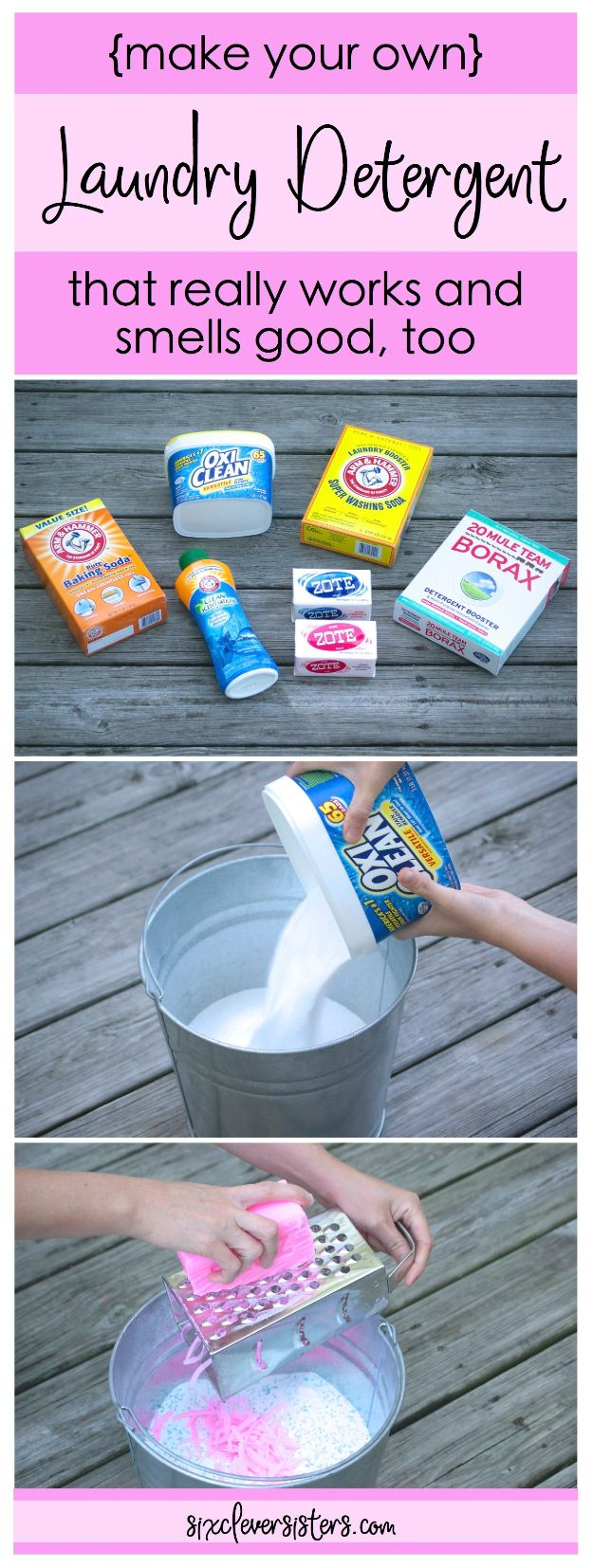 Laundry Detergent Recipes - Make Your Own Powdered Laundry Detergent - DIY Detergents and Cleaning Recipe Tutorials for Homemade Inexpensive Cleaners You Can Make At Home - Scented Powder and Liquid for He Washer - Save Money With These Cheap Ideas - Natural Products With Essential Oils - Baby, Sensitive Skin Detergent Free Ideas http://diyjoy.com/diy-laundry-detergent-recipes