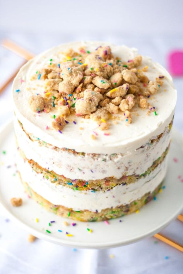 DIY Birthday Cakes - Momofuku Birthday Cake - How To Make A Birthday Cake With Step by Step Tutorial - Bake Homemade Cakes for Special Occasions and Birthdays With These Best Birthday Cake Recipes - Fancy Chocolate, Basic Vanilla Buttercream easy cakes recipes birthdays