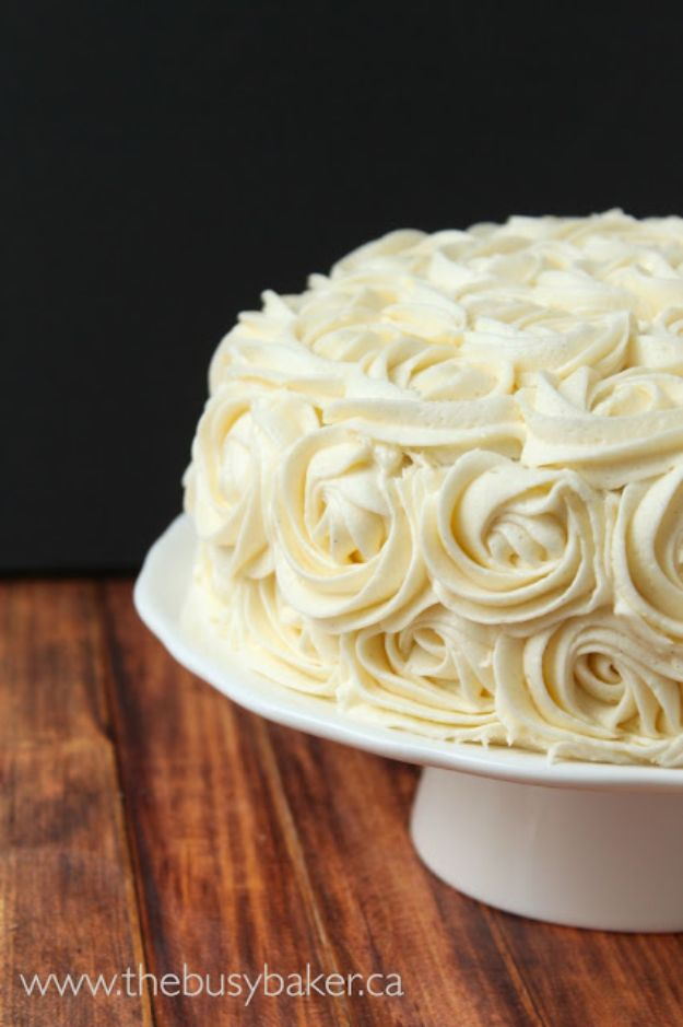DIY Birthday Cakes - Vanilla Bean Birthday Cake - How To Make A Birthday Cake With Step by Step Tutorial - Bake Homemade Cakes for Special Occasions and Birthdays With These Best Birthday Cake Recipes - Fancy Chocolate, Basic Vanilla Buttercream easy cakes recipes birthdays