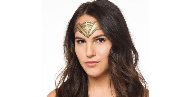 Best Halloween Makeup Tutorials - Wonder Woman's Headpiece for Halloween Using Only Makeup - Easy Makeup Tips and Tutorial Ideas for The Best Halloween Costume - Animals, Eyes, Creative Faces, Simple and Scary Ghosts, Skeletons and Creatures - Zombie Makeup, Cute Looks, DIY Vampire, Gypsy, Mermaid and Creepy Sugar Skull, Cool Glam Looks for A Halloween Party and Instagram Photos - Ideas for Couples and Kids http://diyjoy.com/best-halloween-makeup-tutorials