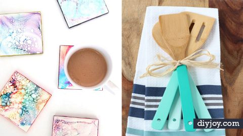 100+ Cheap DIY Gifts To Make For Under $5 | DIY Joy Projects and Crafts Ideas