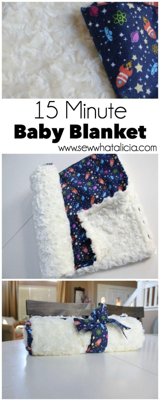 34 Diy Baby Blankets