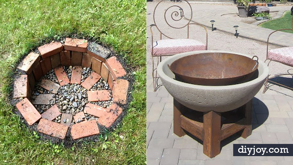 Diy Firepits Cheap And Easy Backyard Fire Pit Projects Step By