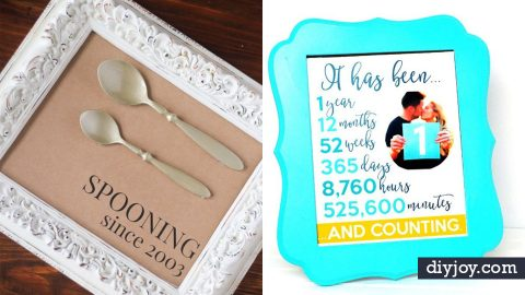 34 DIY Anniversary Gifts | DIY Joy Projects and Crafts Ideas