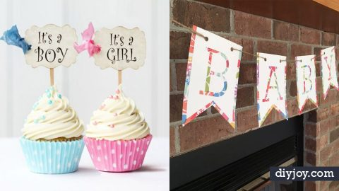 34 DIY Baby Shower Decorations
