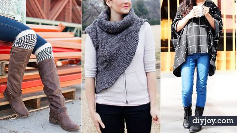 34 DIY Clothes for Winter | DIY Joy Projects and Crafts Ideas