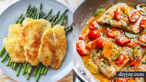 34 Deliciously Easy Tilapia Recipes | DIY Joy Projects and Crafts Ideas