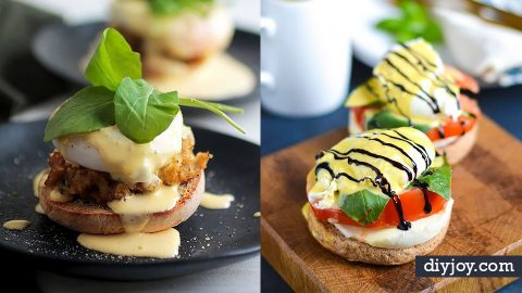 35 Best Eggs Benedict Recipes | DIY Joy Projects and Crafts Ideas