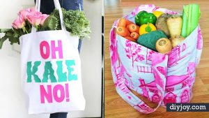35 DIY Shopping Bags