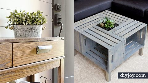 36 DIY Living Room Decor Ideas On A Budget | DIY Joy Projects and Crafts Ideas