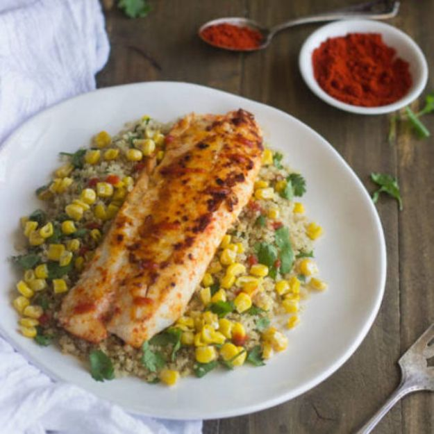 Tilapia Recipes - Cilantro Lime Tilapia - Best Recipe Ideas for Tilapia Fish - Dinner, Lunch, Snacks and Appetizers - Healthy Foods, Gluten Free Low Carb and Keto Friendly Dishes - Salads, Pastas and Easy Weeknight Dinners, Lunches for Work - Broiled, Grilled, Lemon Baked, Fried and Quick Ways to Make Tilapia #fish #healthy #recipes