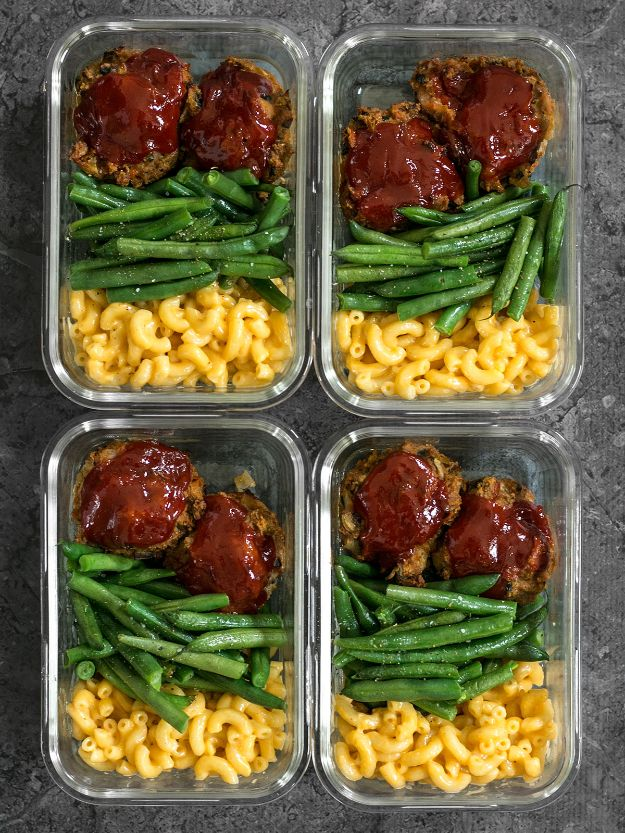 Meal Prep Ideas - Garden Vegetable Turkey Loaf Meal Prep - Recipes and Planning Tips for Making a Week of Meals - Easy, Healthy Recipe Ideas to Make Ahead - Weeknight Dinners Lunches  #mealprep #dinnerideas