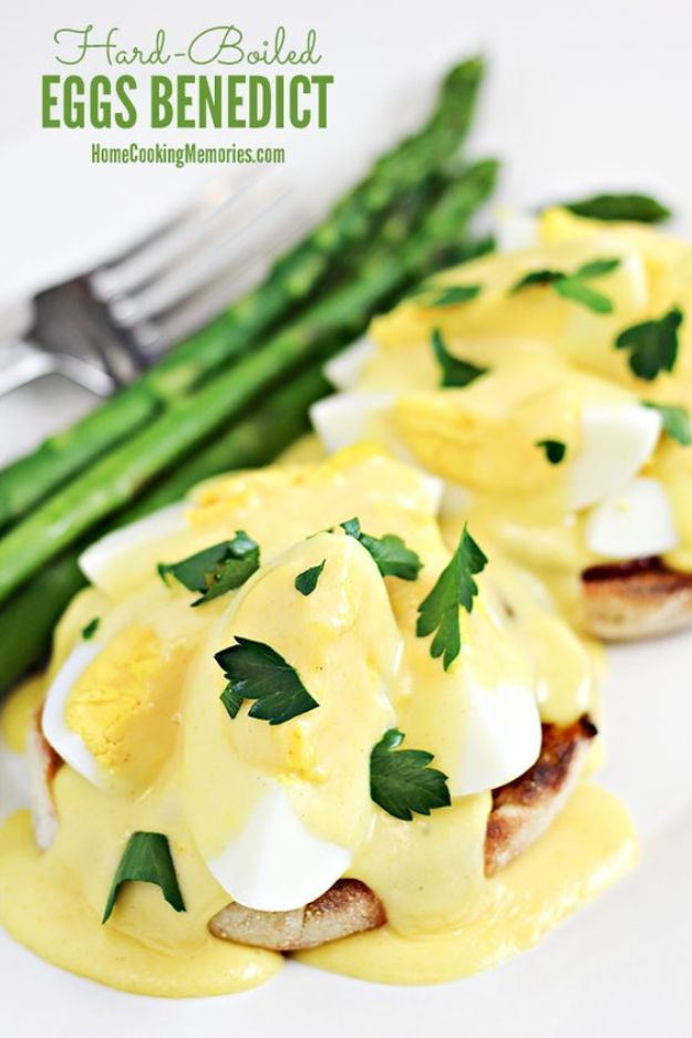 Eggs Benedict Recipes - Hard Boiled Eggs Benedict - Best Benedicts and Recipe Ideas for Breakfast, Brunch and Lunch - Easy and Quick Eggs Benedict, Classic, Salmon, Vegetarian and Healthy Variations - How to Make Hollandaise Sauce - Pioneer Woman Favorites - Eggs Benedict Casserole for A Crowd http://diyjoy.com/eggs-benedict-recipes