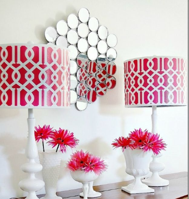 Cheap DIY Living Room Decor Ideas - Make A Wall Mirror - Cool Modern, Rustic Creative Farmhouse Home Decor On A Budget - Do It Yourself Coffee Tables, Wall Art, Rugs, Pillows and Chairs. Step by Step Tutorials and Instructions #diydecor #livingroom #decorideas