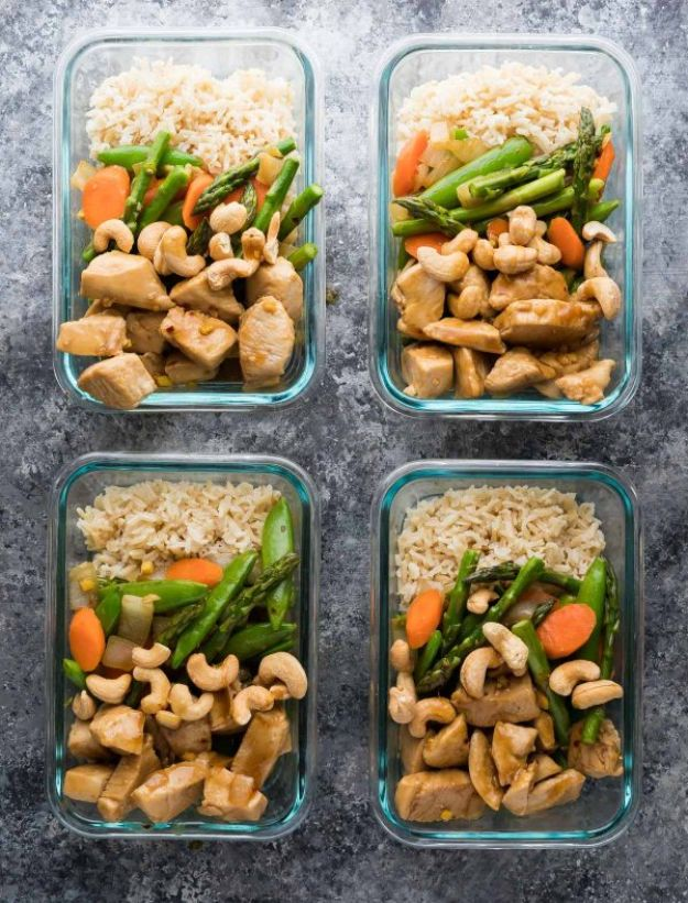 Maple Ginger Chicken MMeal Prep Ideas - Maple Ginger Chicken Meal Prep - Recipes and Planning Tips for Making a Week of Meals - Easy, Healthy Recipe Ideas to Make Ahead - Weeknight Dinners Lunches  #mealprep #dinnerideaseal Prep