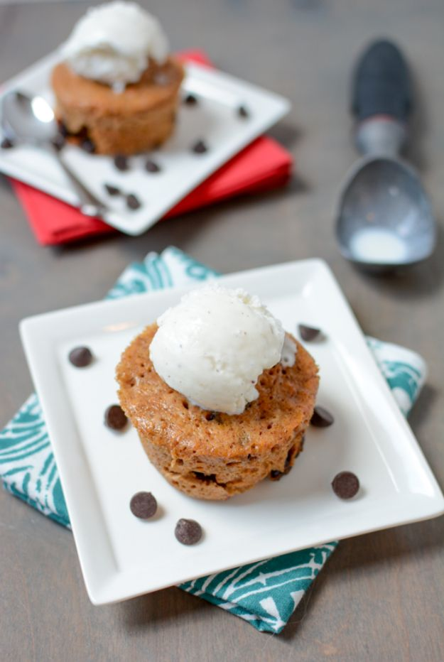 Sweet Potato Recipes - Microwave Sweet Potato Mug Cake - Easy Recipe Ideas for Sweet Potatoes in the Crockpot, Casserole Dishes, Baked, Mashed, Candied and Roastedd - Healthy Versions of Sweet Potatoes for Thanksgiving - Dinner, Lunch and Side Dishes http://diyjoy.com/sweet-potato-recipes
