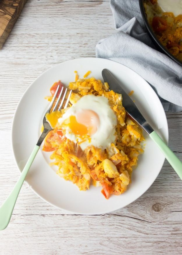 Sweet Potato Recipes - Smoked Haddock Sweet Potato Hash - Easy Recipe Ideas for Sweet Potatoes in the Crockpot, Casserole Dishes, Baked, Mashed, Candied and Roastedd - Healthy Versions of Sweet Potatoes for Thanksgiving - Dinner, Lunch and Side Dishes #recipes