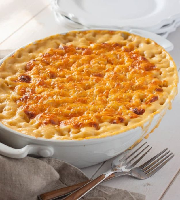 Macaroni and Cheese Recipes - Southern Style Baked Macaroni and Cheese - Best Mac and Cheese Recipe - Baked, Crockpot, Stovetop and Easy, Quick Variations - Homemade, Creamy Sauce - Pioneer Woman Favorites - Velveets Cheddar and 3 Cheese Bacon, Breadcrumbs