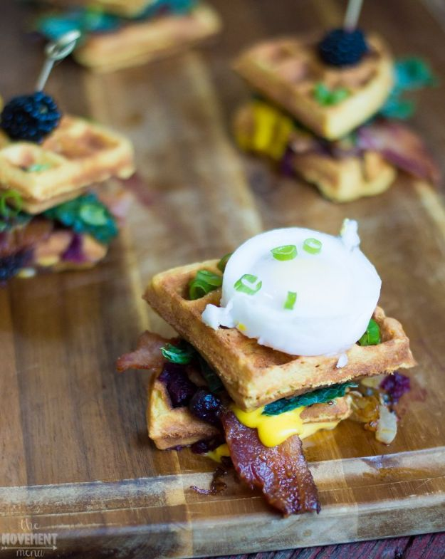 Eggs Benedict Recipes - Sweet and Savory Waffles Benedict Stacks - Best Benedicts and Recipe Ideas for Breakfast, Brunch and Lunch - Easy and Quick Eggs Benedict, Classic, Salmon, Vegetarian and Healthy Variations - How to Make Hollandaise Sauce - Pioneer Woman Favorites - Eggs Benedict Casserole for A Crowd http://diyjoy.com/eggs-benedict-recipes