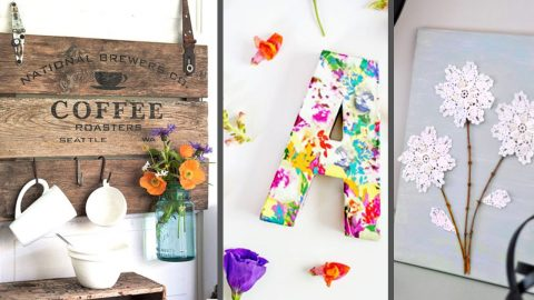 50 Cheap DIY Home Decor Projects That May Fit Any Budget | DIY Joy Projects and Crafts Ideas
