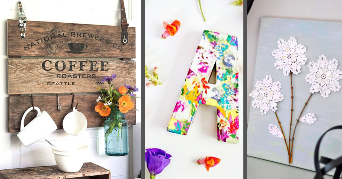 50 Cheap DIY Home Decor Projects That May Fit Any Budget