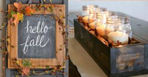 38 DIY Home Decor Ideas for Fall – Crafts Projects
