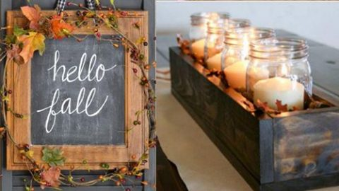 38 DIY Home Decor Ideas for Fall – Crafts Projects | DIY Joy Projects and Crafts Ideas
