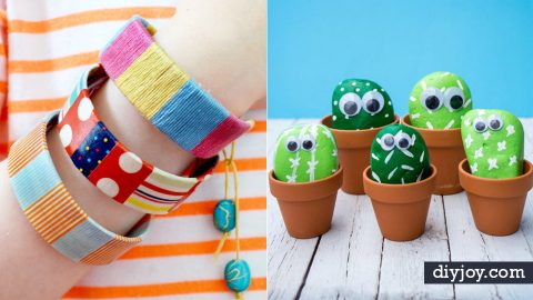 40 Best Easy Crafts and DIY for Kids | DIY Joy Projects and Crafts Ideas