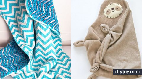 34 DIY Baby Blankets | DIY Joy Projects and Crafts Ideas