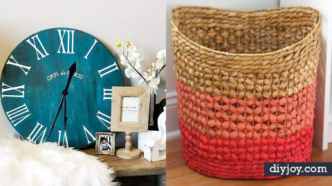 34 DIY Home Decor Ideas For Beginners | DIY Joy Projects and Crafts Ideas