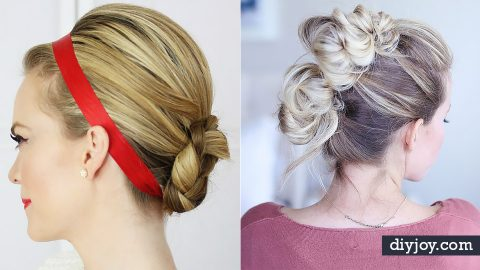 34 Creative Holiday Hairstyles | DIY Joy Projects and Crafts Ideas