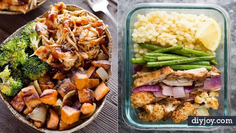 34 Easy Meal Prep Ideas For A Week | DIY Joy Projects and Crafts Ideas